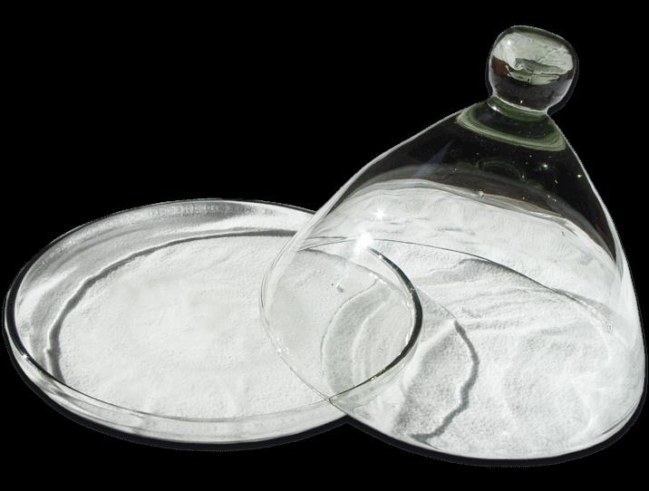 tabouret salle de bain transparent petite cloche en verre souffl - Tabouret Salle De Bain Transparent