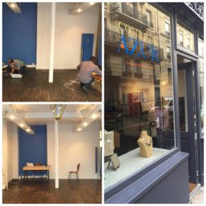 La boutique parisienne comptoir azur crin pour l 39 artisanat d 39 art - Comptoir de l electricite ...