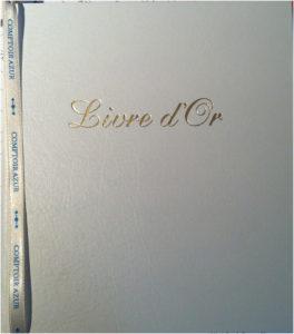 Livre dor photos boutique éphémère Comptoir Azur Mars 2013