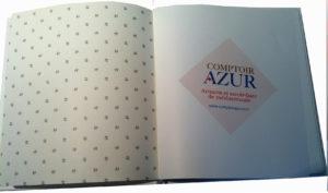 livre dor page 1 Boutique éphémère Comptoir Azur