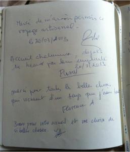 livre dor page 3 photos boutique éphémère Comptoir Azur Mars 2013