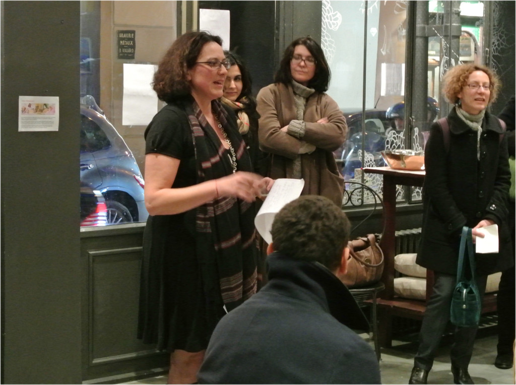 speach vernissage Boutique éphémère Comptoir Azur
