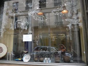 vitrine GAUCHE Boutique éphémère Comptoir Azur