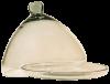 cloche fromage verre souffle incolore