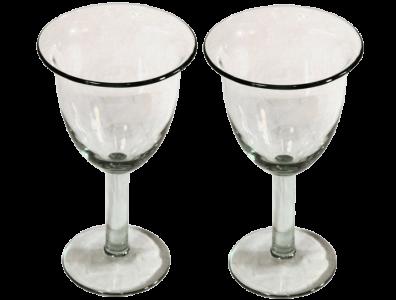 verres a cocktail tulipe verre souffle lisse