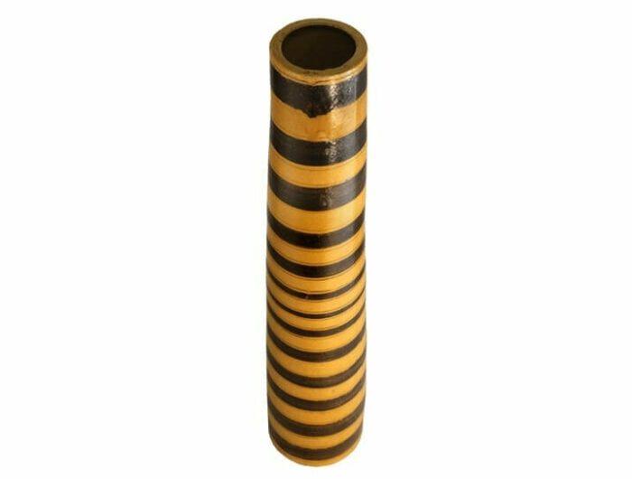 vase haut jaune terre cuite sans verseur