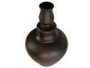 Grand vase noir terre cuite 2