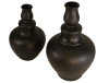 Grand vase noir terre cuite 5