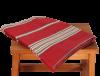 nappe en coton carree rouge 2