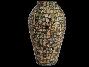 vase d'artisanat tunisien
