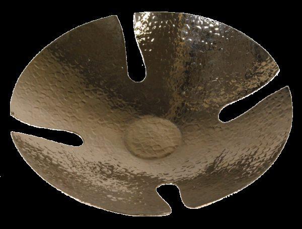 corbeille a pain en cuivre martele petite 2