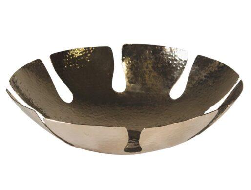 corbeille a pain en cuivre martele nickele 3