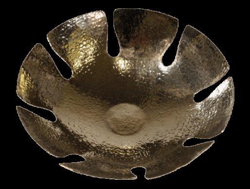 corbeille a pain en cuivre martele nickele 2
