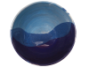 bol dejeuner ceramique emaillee bleue 2