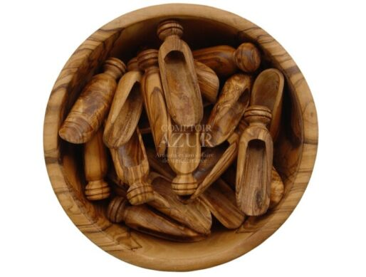 petite cuillere en bois d olivier sel ou epices 2