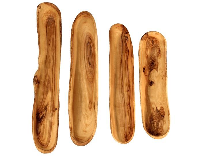 cadeaux artisanaux coupelles apéritif en bois d'olivier
