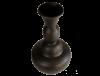 Grand vase noir design terre cuite 2