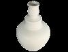 Grand vase blanc terre cuite 5
