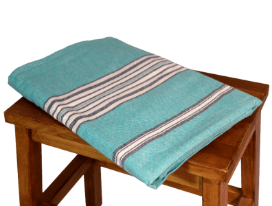 nappe en coton bleu turquoise rectangulaire pour une table qui a du peps. Black Bedroom Furniture Sets. Home Design Ideas