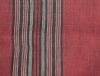 echarpe rouge rayee noir 2