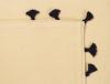 serviettes de table coton pompons bleus 2