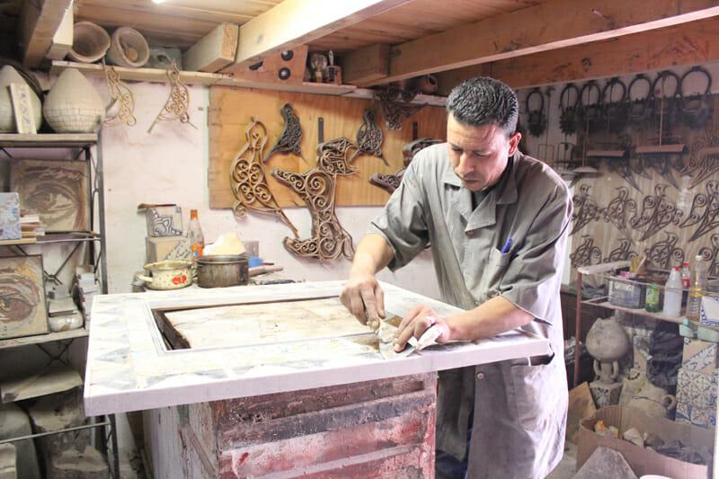 Atelier Driba - Artisan Tunisien - Design contemporain à partir d'objets anciens