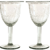 verres a cocktail tulipe verre souffle craquele