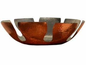 idée cadeau de noel nathalie corbeille cuivre martelé