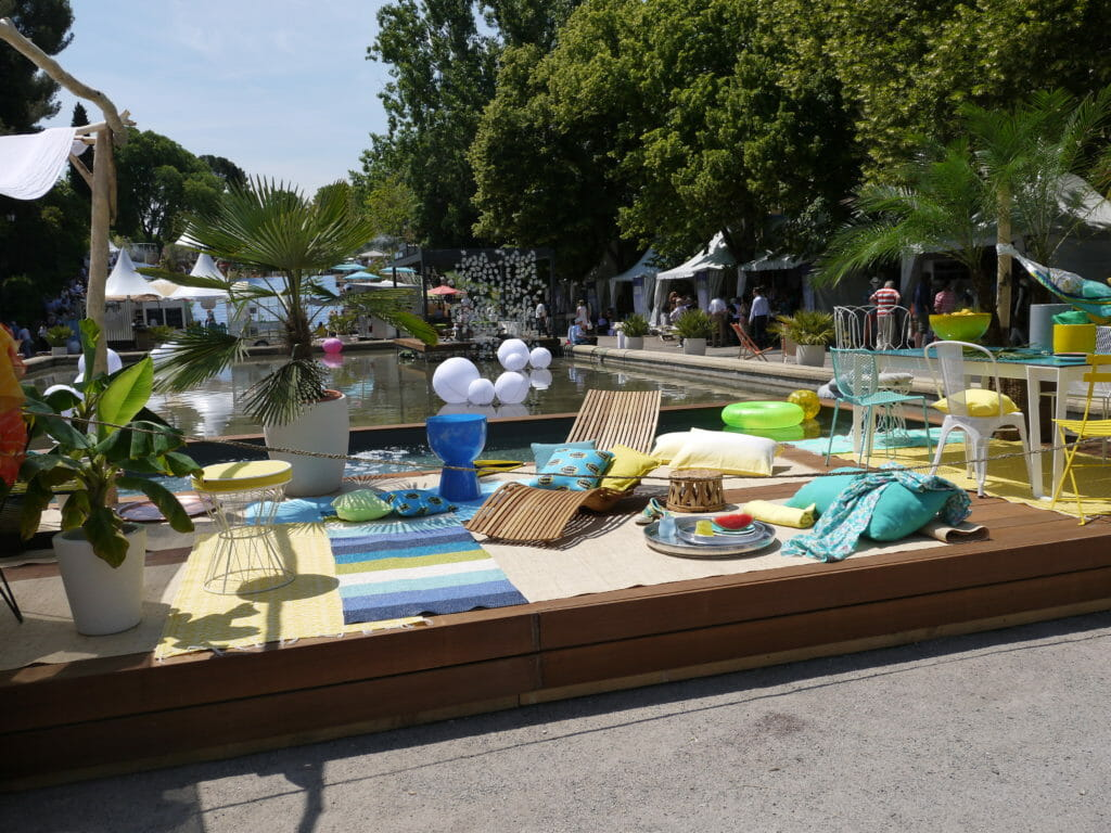 Salon Vivre Côté Sud 2013 terrasse plein soleil partie centrale