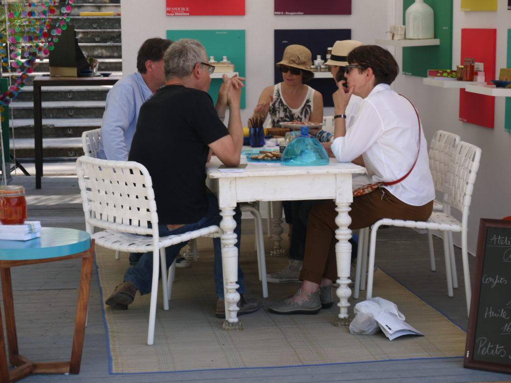 terrasse gourmande cabinet des curiosités atelier Salon Vivre Coté Sud 2013 t