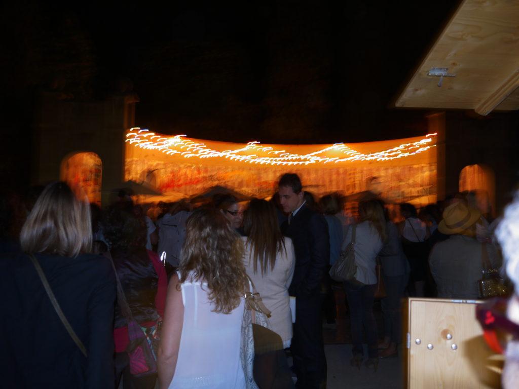 terrasse les palissades soirée anniversaire Salon Vivre Côté Sud 2013