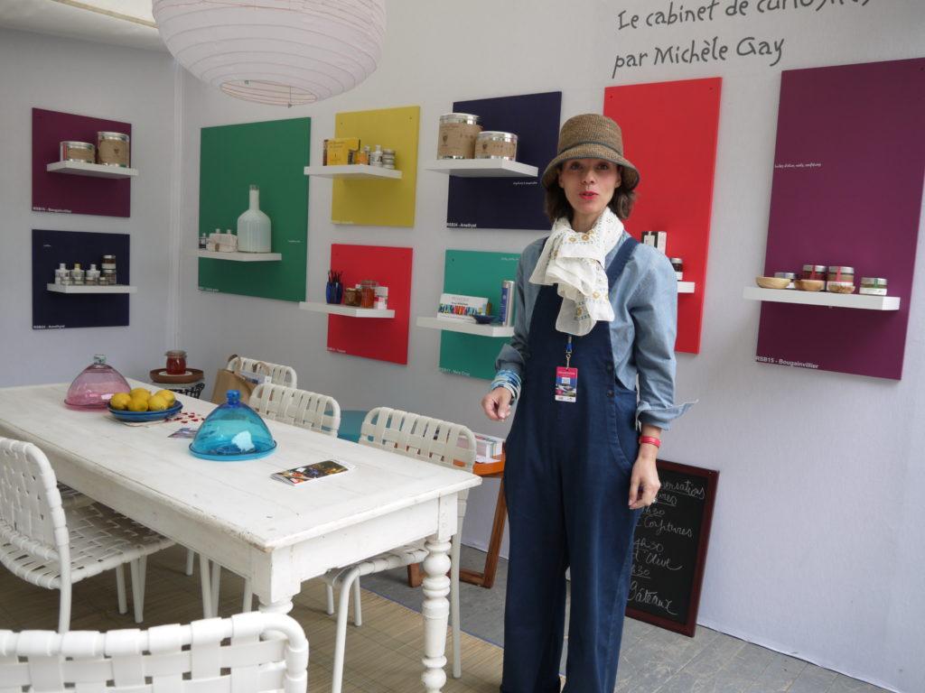 terrasse gourmande cabinet des curiosités Michelle GAY Salon Vivre Coté Sud 2013 t