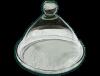 Petite cloche en verre soufflé incolore 3
