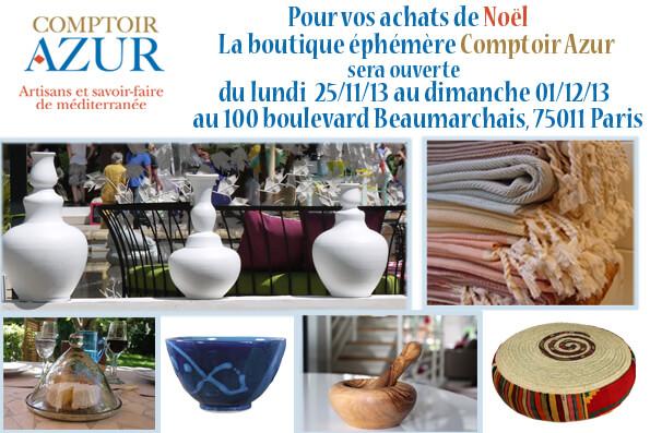 Exposition d'artisanat d'art Comptoir Azur