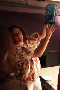Comptoir Azur soufflage du verre conférences-camembert Michèle Gay