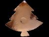 photophore sapin en cuivre martelé moyen 2