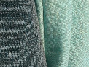 Écharpe Bohemian Chic bleue en lin Comptoir Azur
