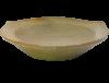 Assiette blanche en terre cuite de sejnane 2