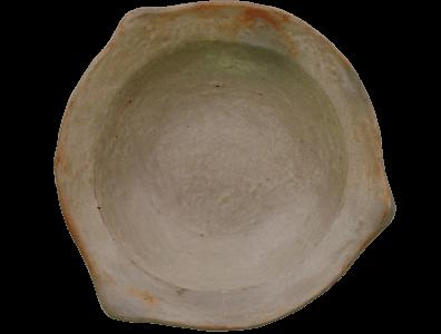 Assiette blanche terre cuite sejnane