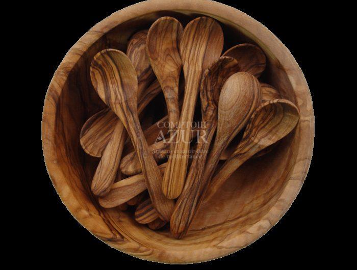 petite cuillere a cafe en bois d olivier 2