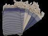 foutas sets de table bleu