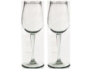 Verres à vin verre lisse
