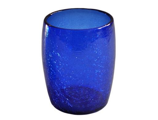 gobelet verre souffle bleu fonce 01