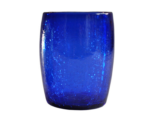 gobelet verre souffle bleu fonce 02