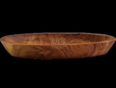 coupelle en bois d'olivier ovale 3