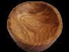 coupelle en bois d'olivier ovale