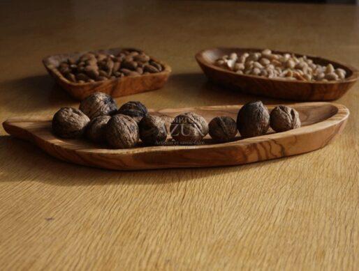 coupelle en bois d'olivier