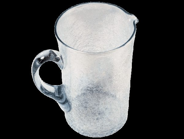 Carafe en verre souffle incolore 2