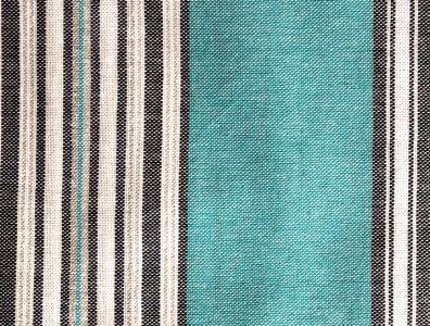 nappe en coton carrée bleu turquoise 1