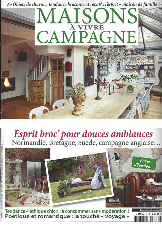 magazine maison de campagne avie home. Black Bedroom Furniture Sets. Home Design Ideas